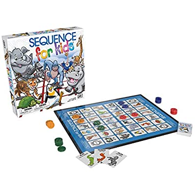 Sequence for Kids -- The 'No Reading Required' Strategy Game  by Jax: Toys & Games