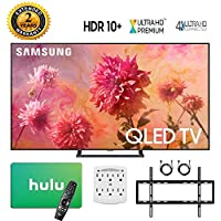 Samsung-QN75Q9FN 75 Q9FN Smart 4K Ultra HD QLED TV (2018) with 2 Year Extended Warranty + Bonus $100 Hulu Gift Card + Wall Mount Kit + More - QN75Q9F QN75Q9 75Q9F 75Q9