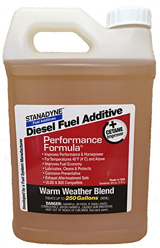Stanadyne Performance Formula Warm Weather Blend ** 1/2 Gallon ** Part # 43572