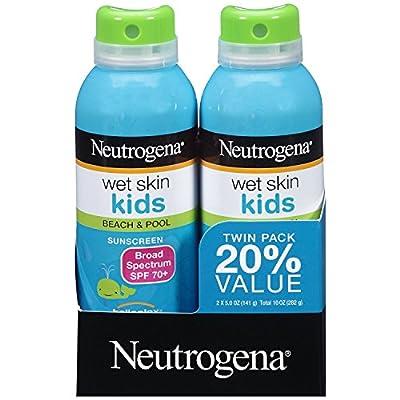 Neutrogena Wet Skin Kids Sunscreen Spray SPF 70