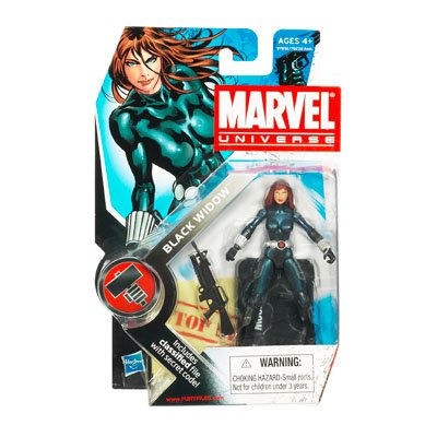 Marvel Universe 3 3/4 Inch Series 7 Action Figure Black Widow