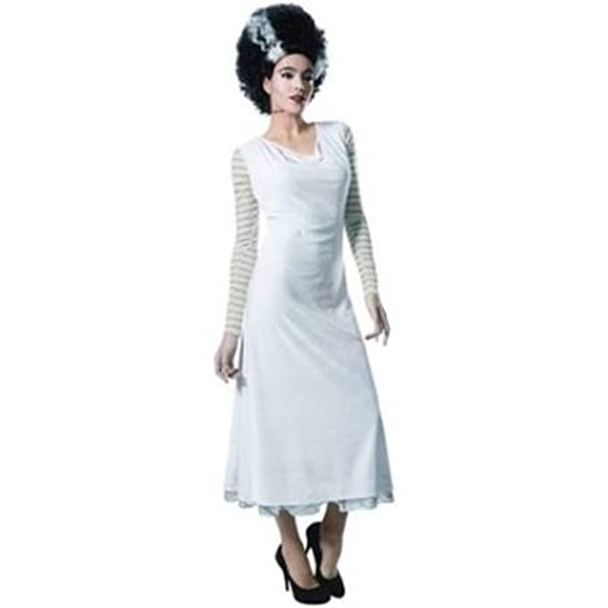 1930s Costumes- Bride of Frankenstein, Betty Boop, Olive Oyl, Bonnie & Clyde Deluxe Woman Large 14-16 Bride of Frankenstein Adult Costume Dress Halloween Role Play $39.99 AT vintagedancer.com
