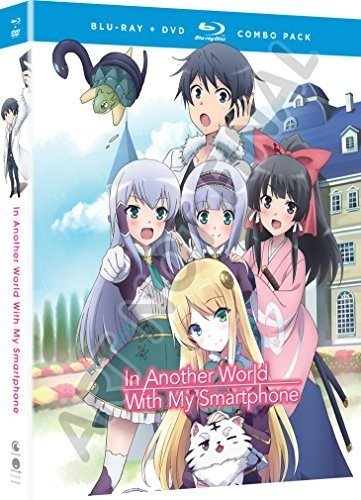 Blu-ray : In Another World With My Smartphone: The Complete Series (With DVD, Boxed Set, Subtitled, Dubbed, 4PC)