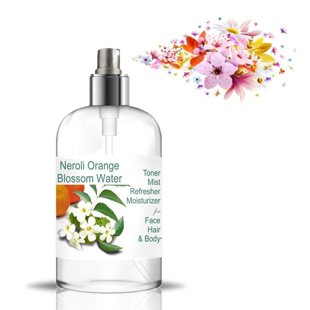 Acqua floreale di fiori d'arancio Acqua di NEROLI Idrolato 500 ml Tonico o Struccante Anti Macchie Lenitivo Made in France