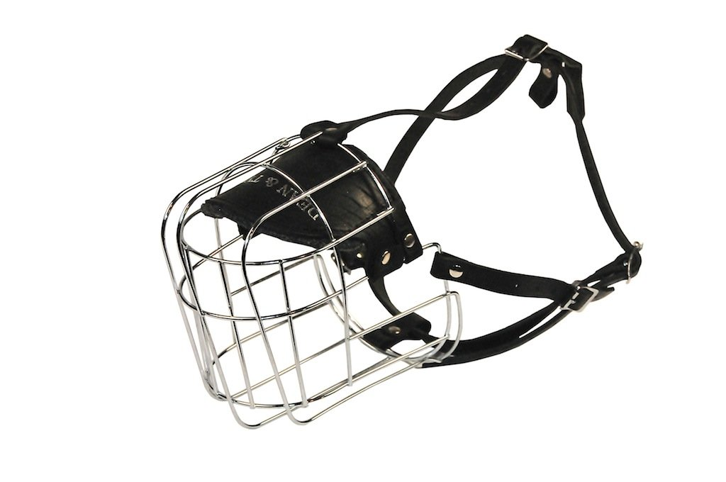 Dean & Tyler Great Dane Wire Basket Muzzle, Size 13