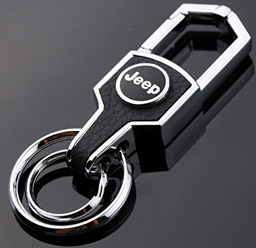 Zepthus Jeep Key Chain Stainless Steel Grill Key Chain, KeyChain Will Never Rust, Bend or Break!Car Key KeyRing for All