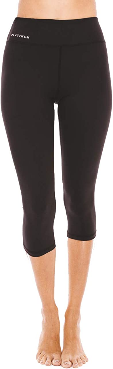 Platinum Sun Capris Sport Leggings Tights for Women