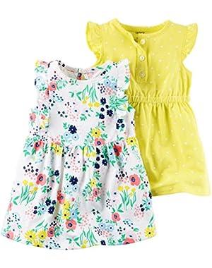 Baby Girls' 2 Piece Dress Set