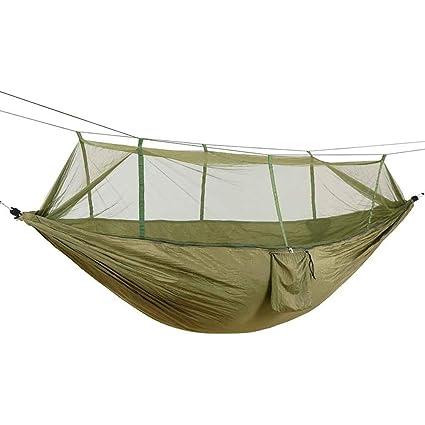 2 personas hamaca outdoor con mosquitera ultra luz transpirable camping