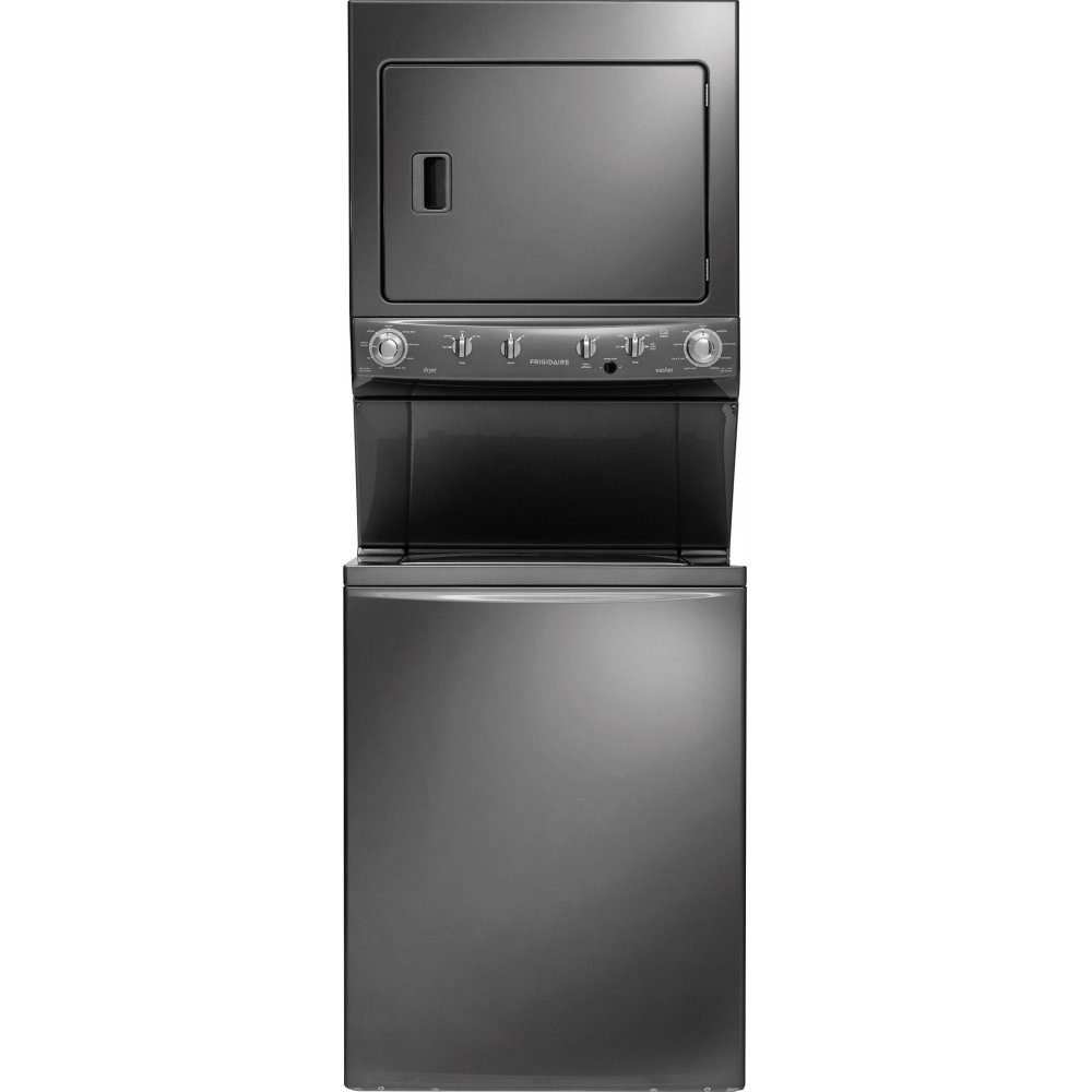 Miele stackable washer dryer ventless - Frigidaire Fflg4033qt 27 Energy Star Certified Gas Washer Dryer Laundry Center In Slate