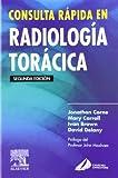 Consulta Rápida en Radiología Torácica, Corne, Jonathan, 8481748609