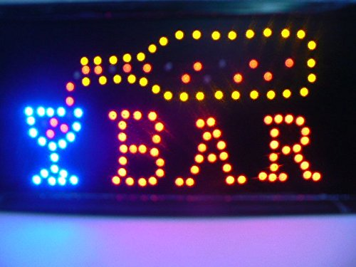 870012 Cartel luminosa iluminación a led bar Multicolor Luz ...