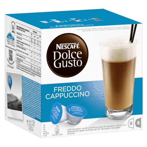 Nescafe Dolce Gusto Freddo Cappucino- 16 ct- IMPORTED from GERMANY-Shipping from USA
