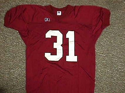 new styles 2b822 2519d Crimson Game Jersey #31 University of Alabama at Amazon's ...