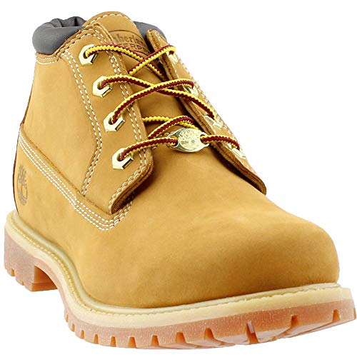 Timberland Women's Nellie Double WP Ankle Boot,Wheat Yellow,7 W US from Timberland