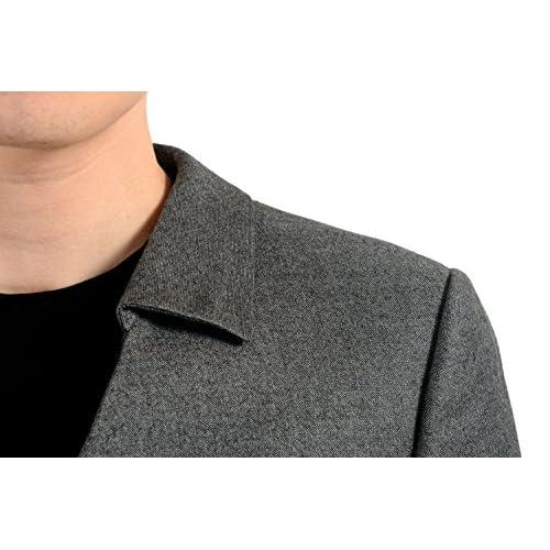 e57820aaa Versace Men's 100% Wool Gray Double Breasted Blazer Sport Coat US 38 ...