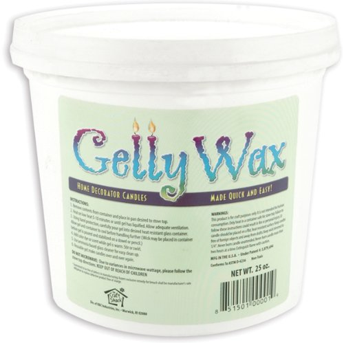 Gelly Candle Wax, 25-Ounce, Clear