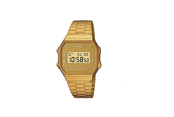 Casio Collection Unisex Adults Watch A168WG-9BWEF  Amazon.co.uk  Watches 32f345414c31