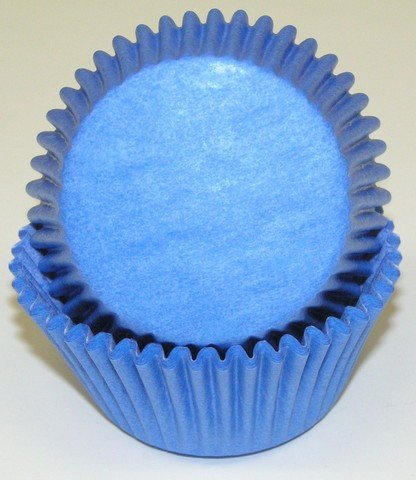 100 Light Blue Cupcake Liners Baking Cups STANDARD SIZE Baby Shower