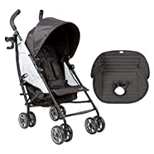 Summer Infant 3D Flip Convenience Stroller with Seat Pad Liner, Double Take
