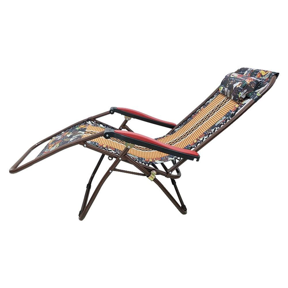 WPQW - ラウンジチェア 折りたたみランチ休憩昼寝椅子うそ暗号化クッションラウンジチェア多機能ランチ休憩ロープ車のクッションリクライニングチェア - 8855 B07T4K193H
