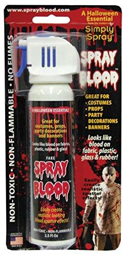 Fake Blood Spray Paint - -