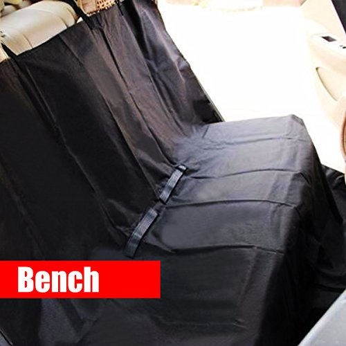 Zone Tech Classic Black Heavy Duty Auto Pet Hammock Premium Quality Dog Vehicle Seat Protector by Zone Tech (Image #3)