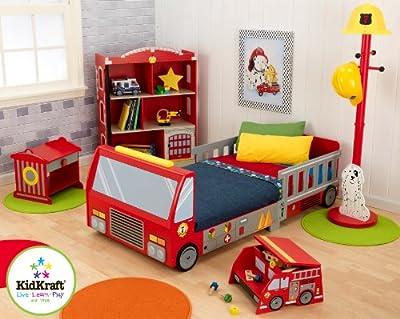 Kidkraft Firetruck Toddler Cot by KidKraft