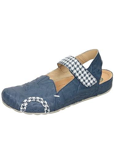 Dr. Brinkmann Damen-Pantolette Blau 701060-5, Grösse 38