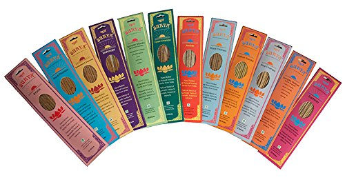 The Variety Pack From Surya Incense Company