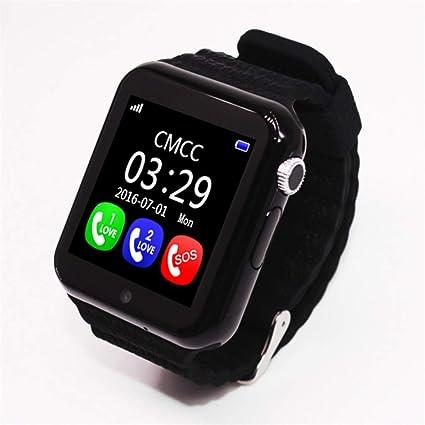 KLAYL Reloj Inteligente GPS Smart Watch Kids Watch V7k con cámara ...