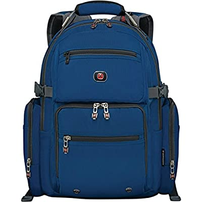 "SwissGear Breaker Backpack With 16"" Laptop Pocket & 10"" Tablet Pocket Blue from Swiss Gear"