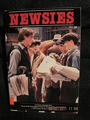 book cover of Newsies