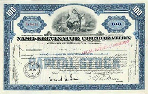 1941-nash-kelvinator-automobile-stock-certificate