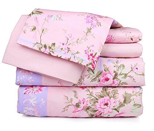 Super Soft Luxury Floral Six Piece