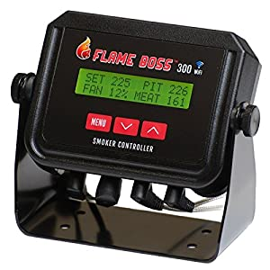 Flame Boss 300-WiFi Grill & Smoker Temperature Controller by famous Flame Boss
