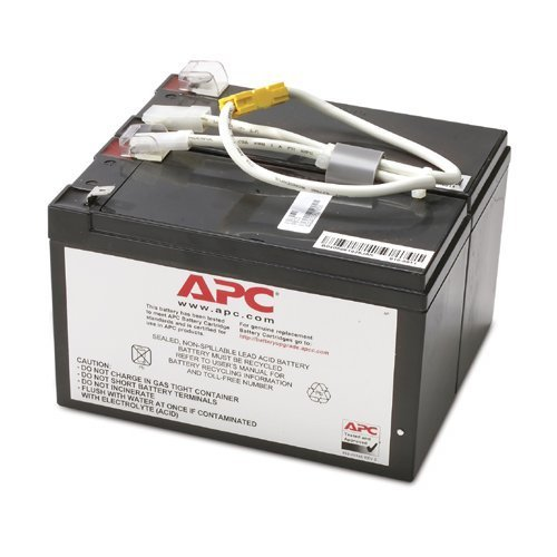 APC UPS Replacement Battery Cartridge for APC UPS Models BN1250LCD, BR1500LCDI, BX1300LCD, BX1500LCD and select others (APCRBC109)