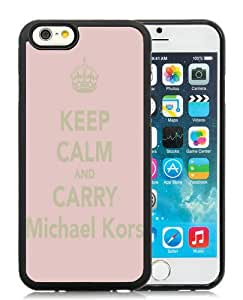 Hot Sale M-ichael K-ors iPhone 6S TPU Case ,Popular And Unique 52 Black Phone Case For iPhone 6S Screen Case Fashion Custom Designed