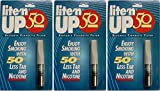 3-PACK LITE'N UP-50 Reusable Cigarette Filter