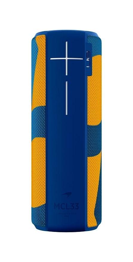 Ultimate Ears Megaboom McLaren Bluetooth / Wireless Speaker (Waterproof and Shockproof) - MCL33 - Blue / Orange