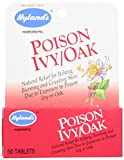 Hyland's Natural Poison Ivy & Poison Oak Relief Tablets, 50 Count