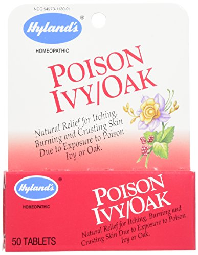 Hyland's Natural Poison Ivy & Poison Oak Relief Tablets, 50 (Ivy Natural)