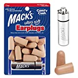 Mack's Ultra Soft Foam Earplugs, 7 Pair + Case