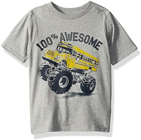 The Children's Place Baby Boys' Tractor Graphic Tee