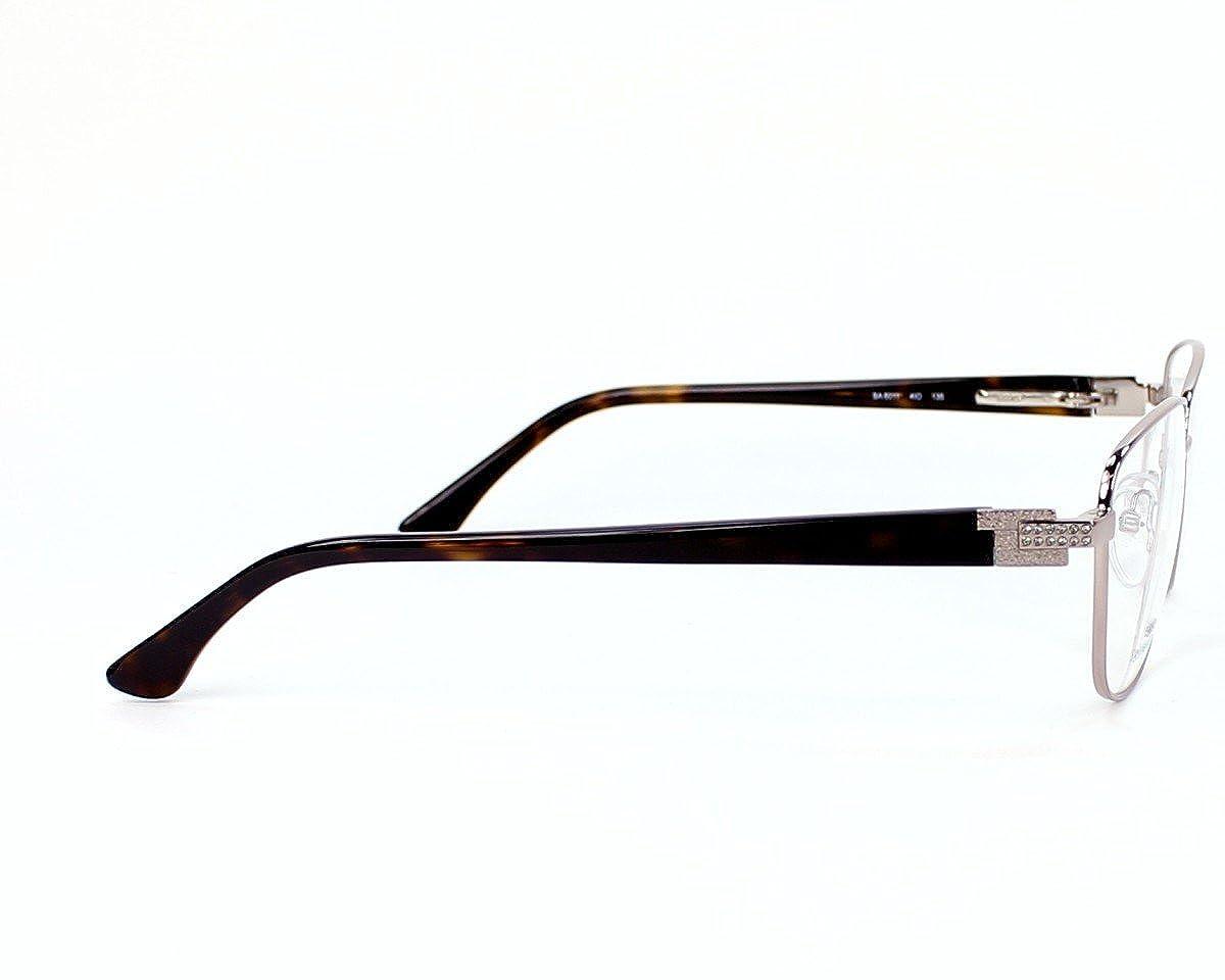 Amazon.com: Safilo diseño anteojos SA 6011 04io Luz café ...