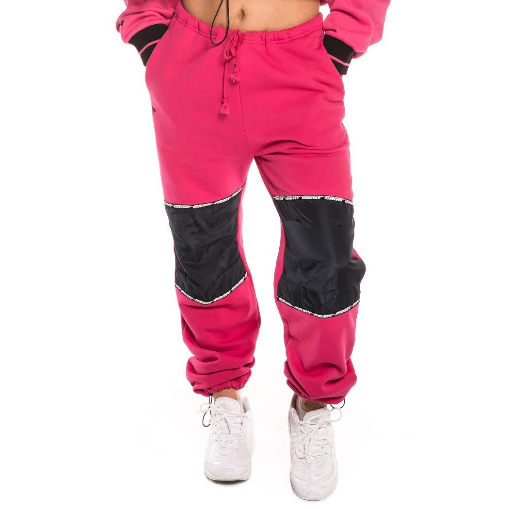 GRIMEY PANTALÓN Chica Nemesis Polar Sweatpant FW18 Pink: Amazon.es ...