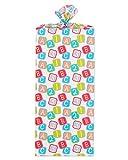 American Greetings Jumbo Plastic Gift Bag Baby Blocks: more info