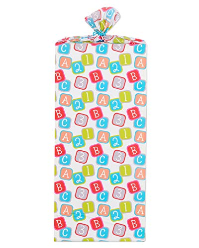 American Greetings Jumbo Plastic Gift Bag Baby ()