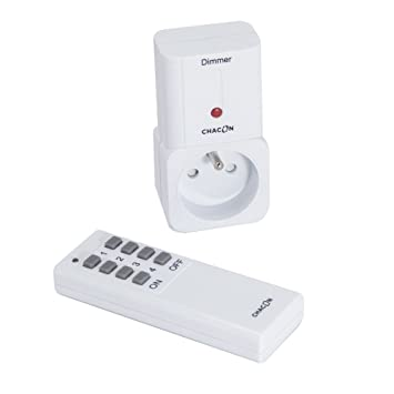 Chacon 54647 - Enchufe con mando a distancia