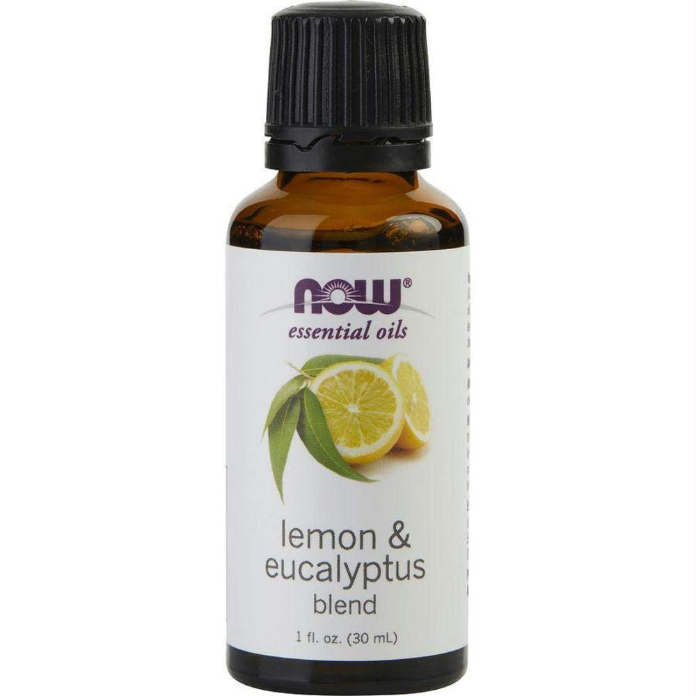 NOW Foods, Lemon & Eucalyptus Blend Oil - 1 oz